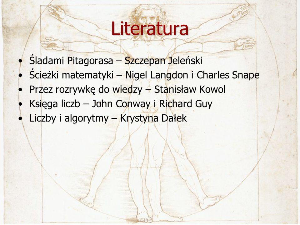 Literatura Śladami Pitagorasa – Szczepan Jeleński