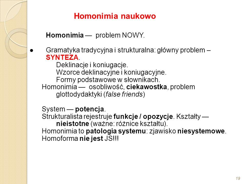 Homonimia naukowo