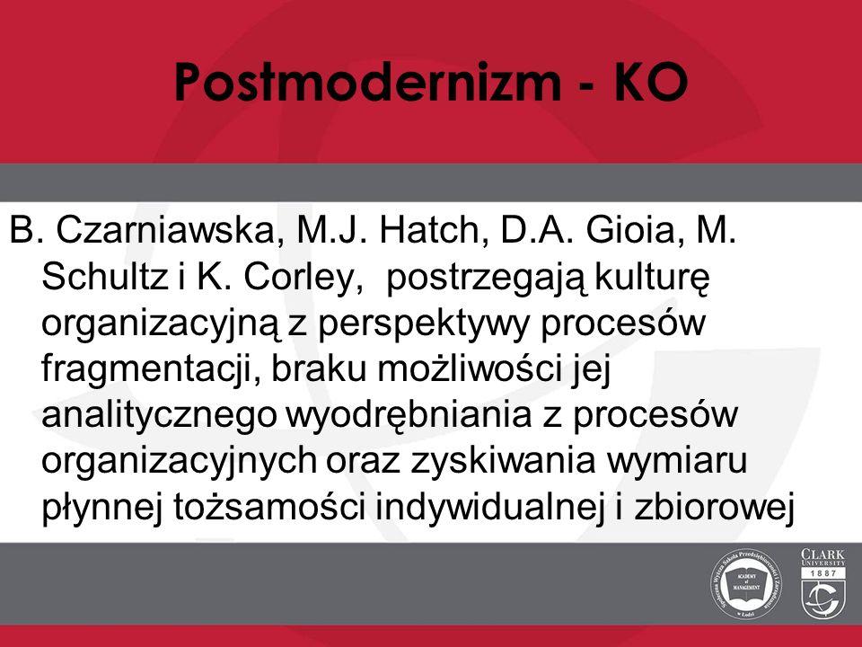 Postmodernizm - KO