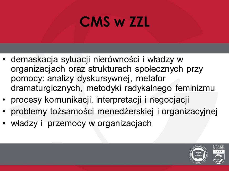CMS w ZZL