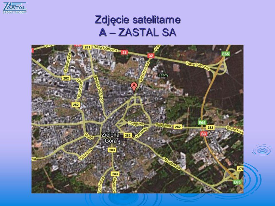 Zdjęcie satelitarne A – ZASTAL SA
