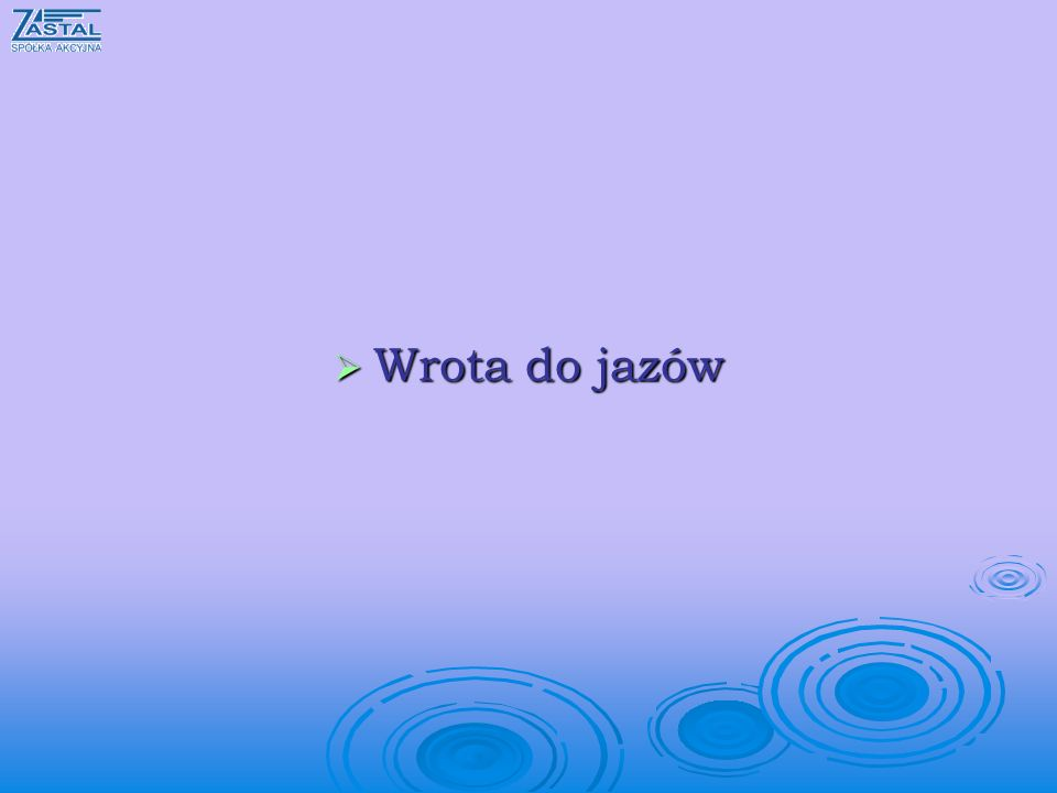 Wrota do jazów