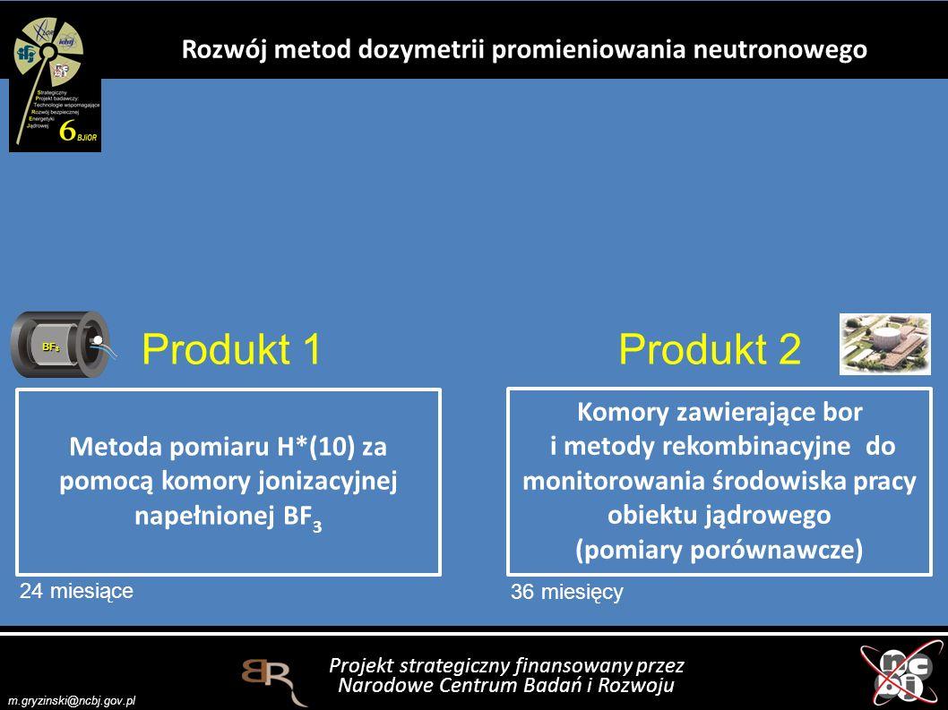 Rozwój metod dozymetrii promieniowania neutronowego