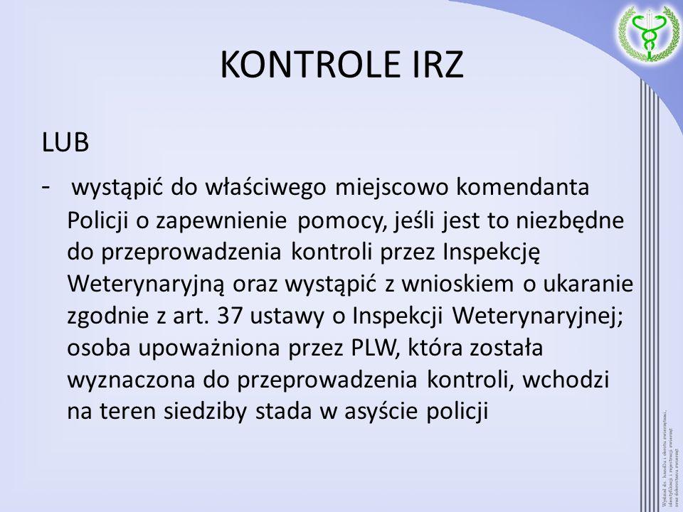 KONTROLE IRZ