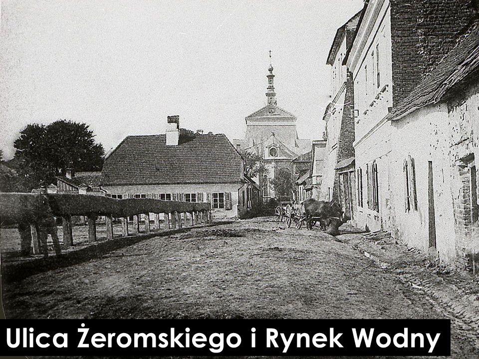 Ulica Żeromskiego i Rynek Wodny