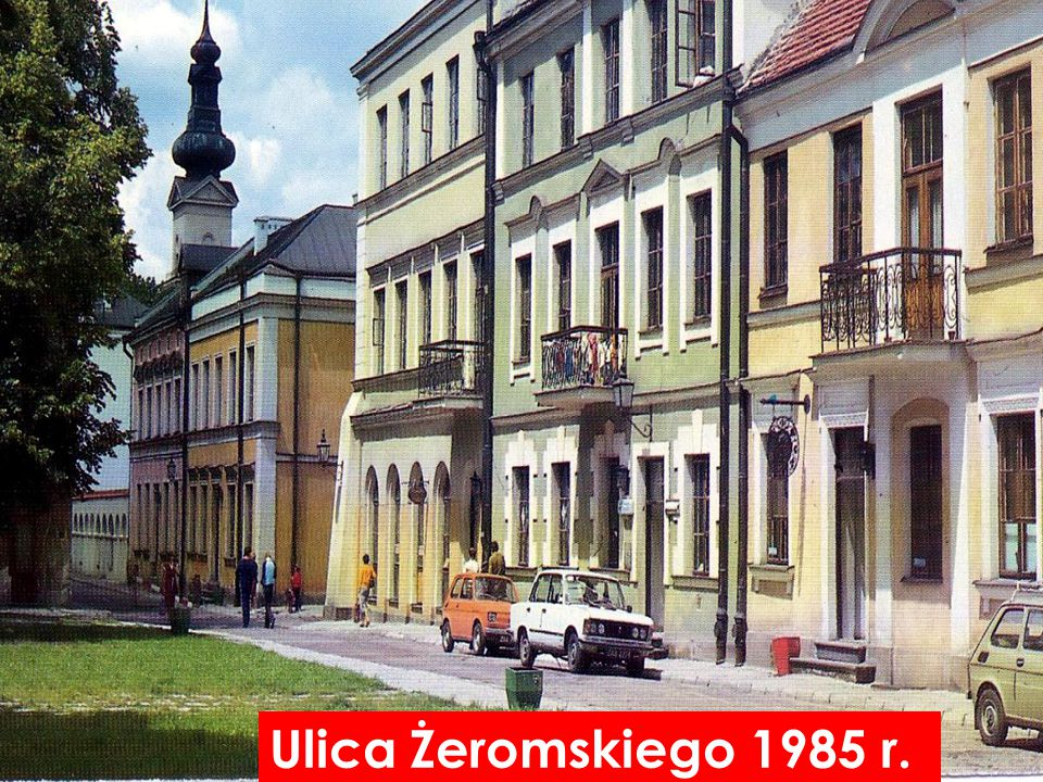 Ulica Żeromskiego 1985 r.