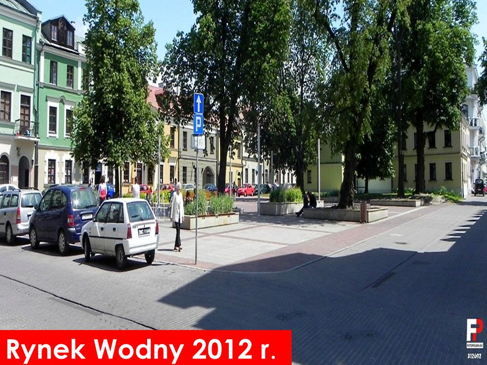 Rynek Wodny 2012 r.