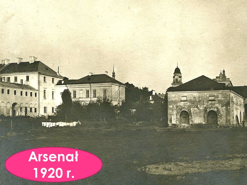 Arsenał 1920 r.