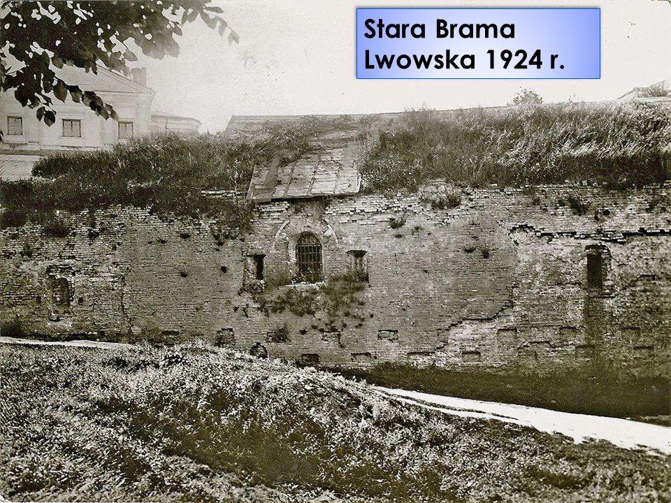 Stara Brama Lwowska 1924 r.