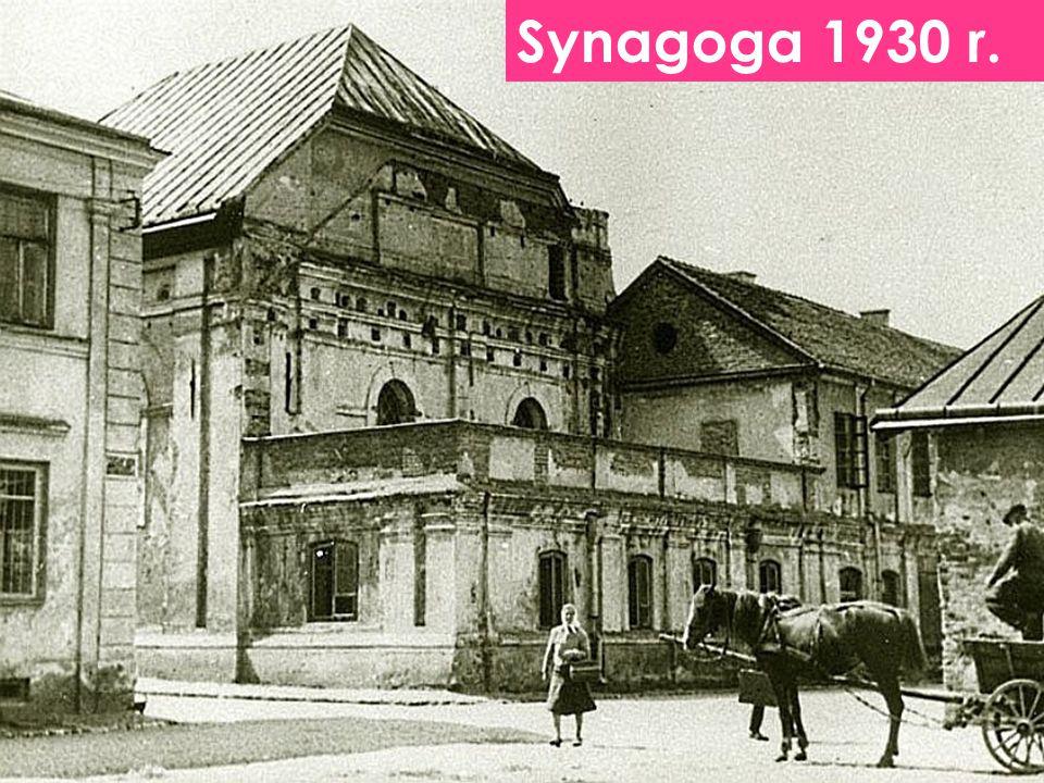 Synagoga 1930 r.
