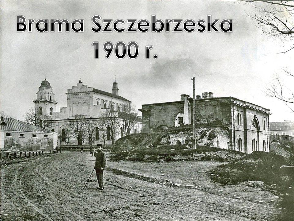 Brama Szczebrzeska 1900 r.