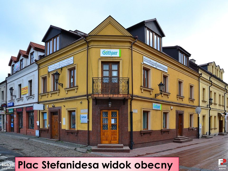 Plac Stefanidesa widok obecny