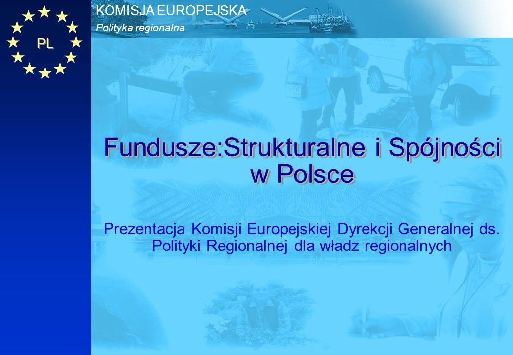 Fundusze:Strukturalne i Spójności w Polsce