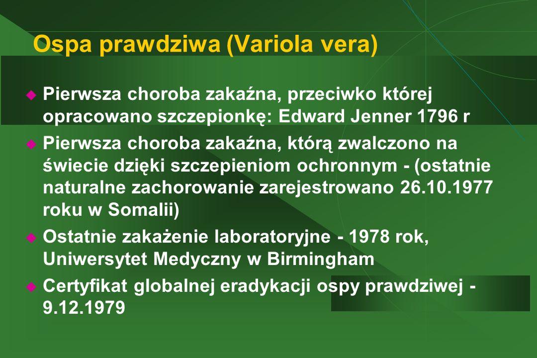 Ospa prawdziwa (Variola vera)