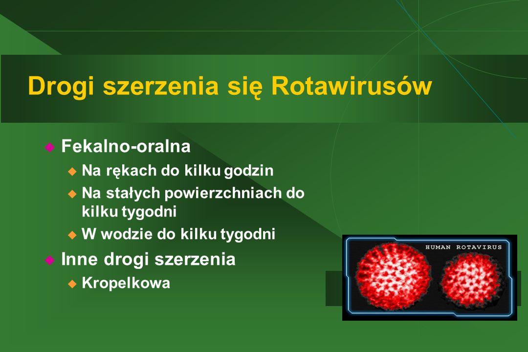Drogi szerzenia się Rotawirusów