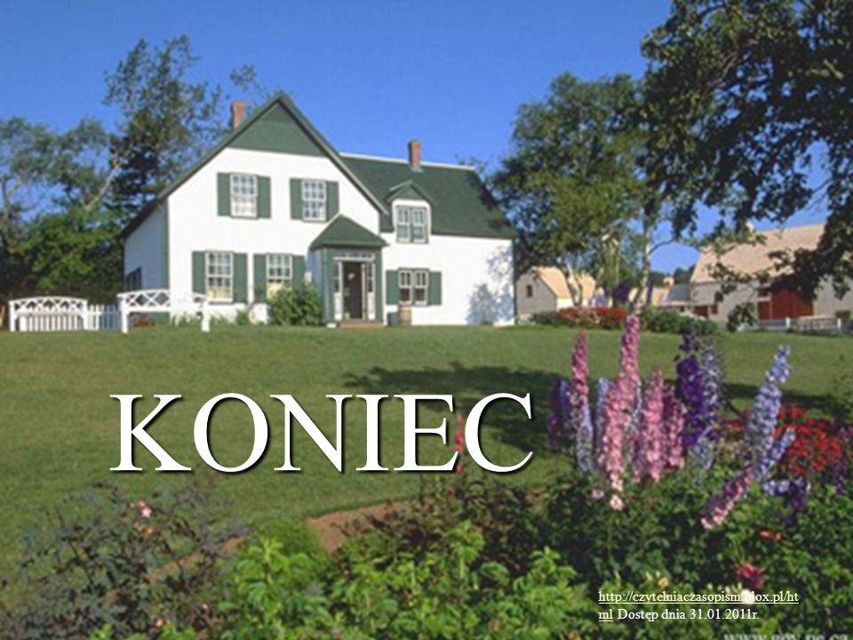 KONIEC http://czytelniaczasopism.blox.pl/html Dostęp dnia 31.01.2011r.