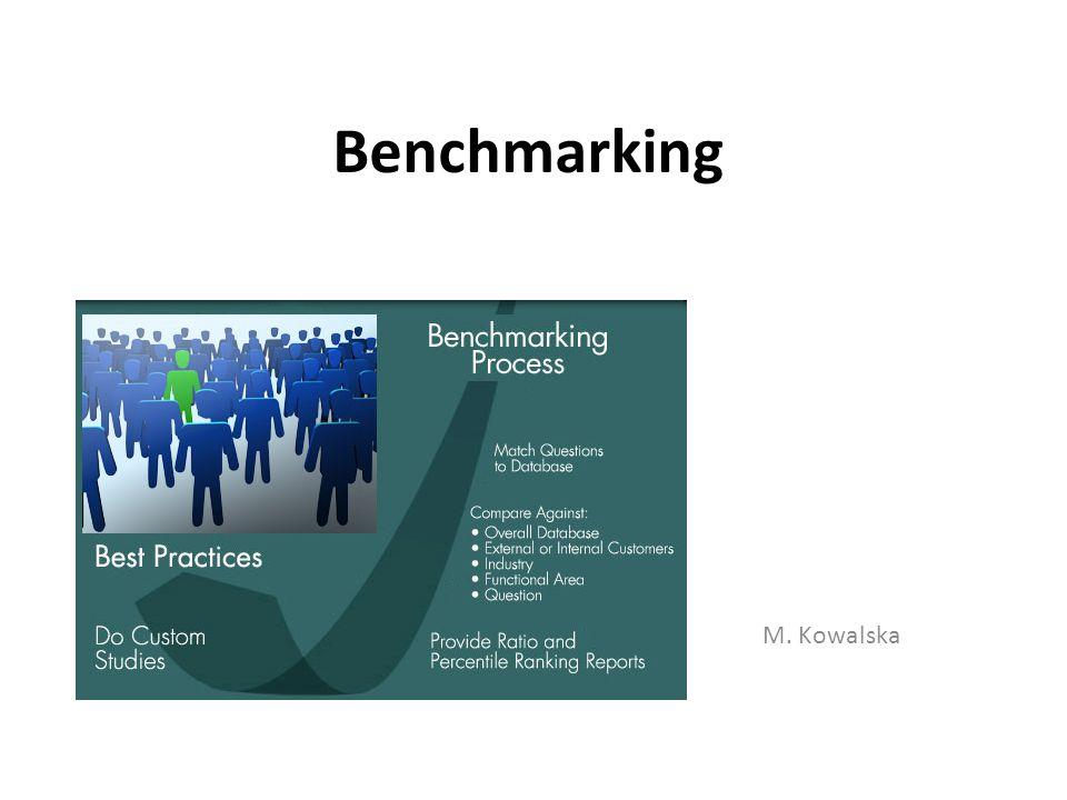 Benchmarking M. Kowalska
