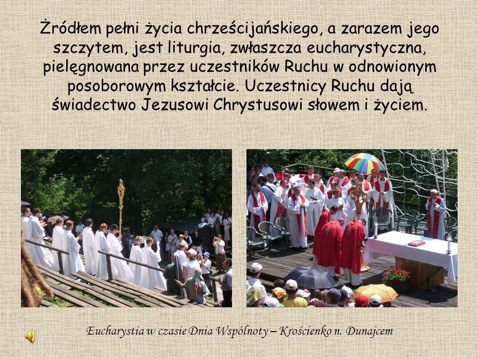 Eucharystia w czasie Dnia Wspólnoty – Krościenko n. Dunajcem