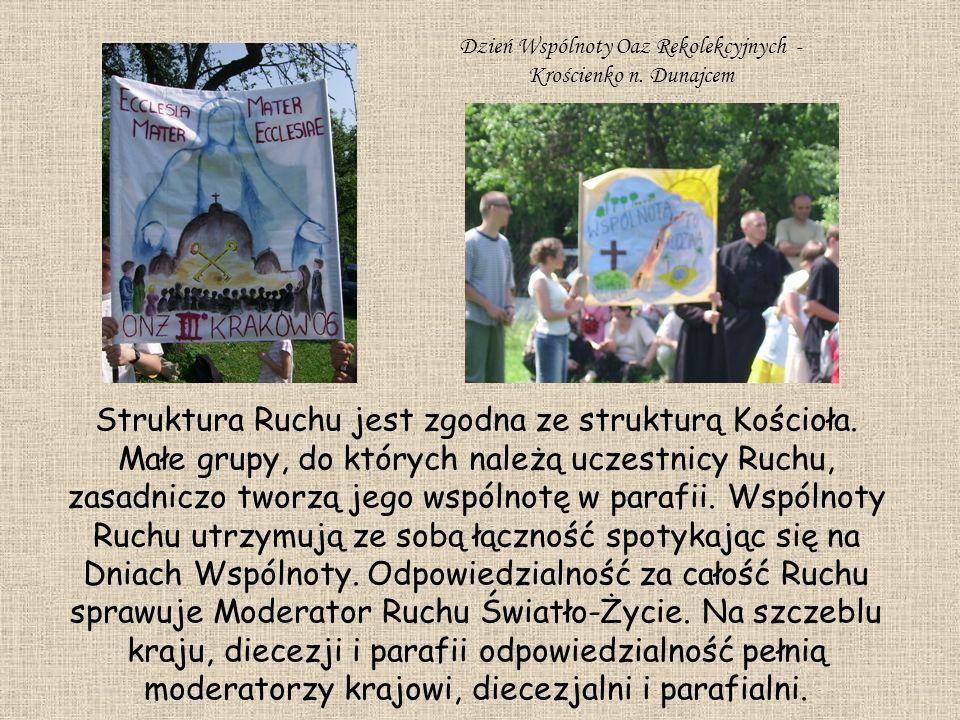 Dzień Wspólnoty Oaz Rekolekcyjnych - Krościenko n. Dunajcem