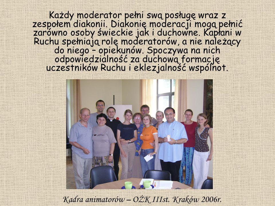 Kadra animatorów – OŻK IIIst. Kraków 2006r.