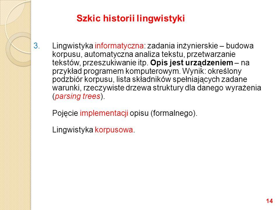 Szkic historii lingwistyki