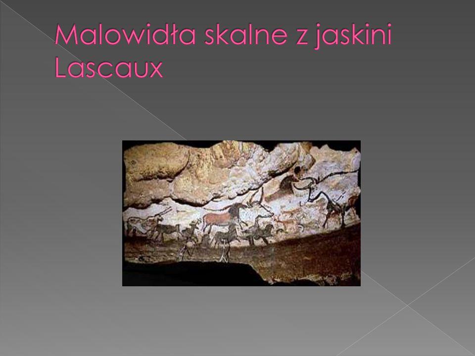 Malowidła skalne z jaskini Lascaux