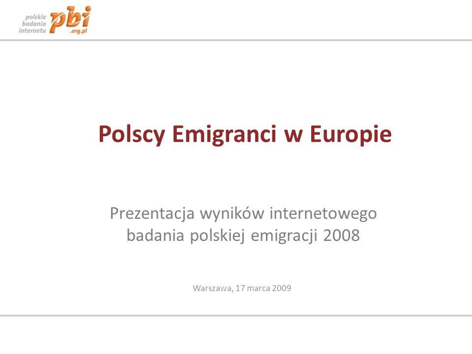 Polscy Emigranci w Europie