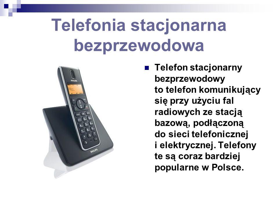 Telefonia stacjonarna bezprzewodowa