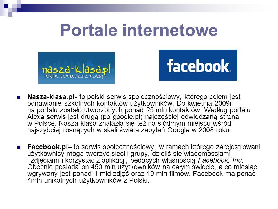Portale internetowe