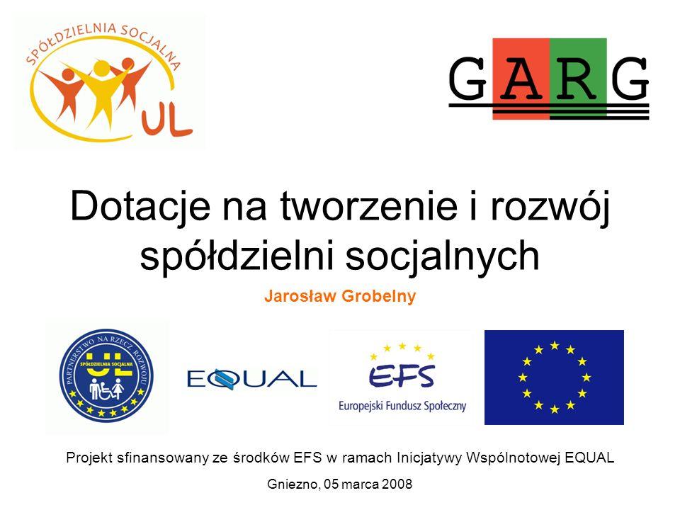 Dotacje na tworzenie i rozwój spółdzielni socjalnych