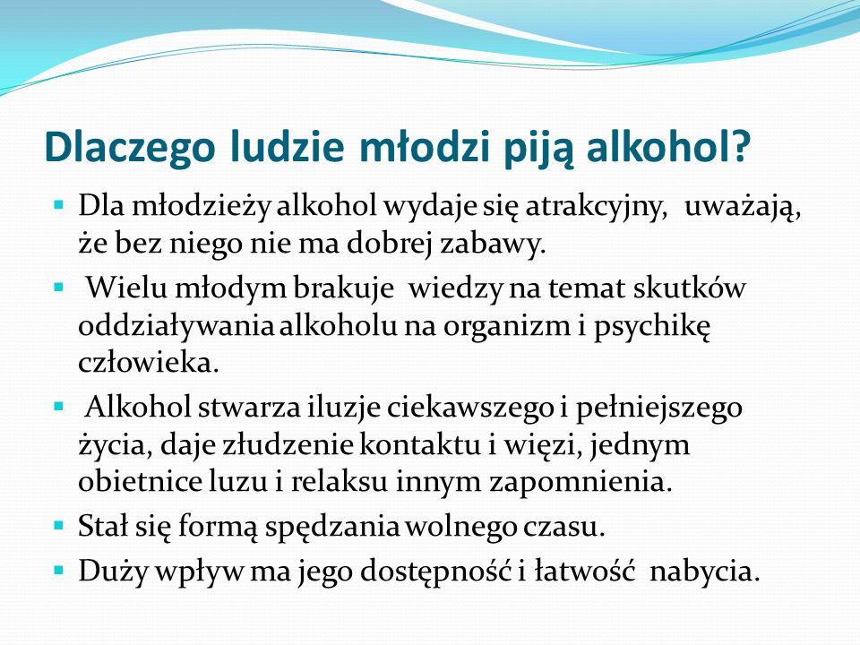 Dlaczego ludzie młodzi piją alkohol