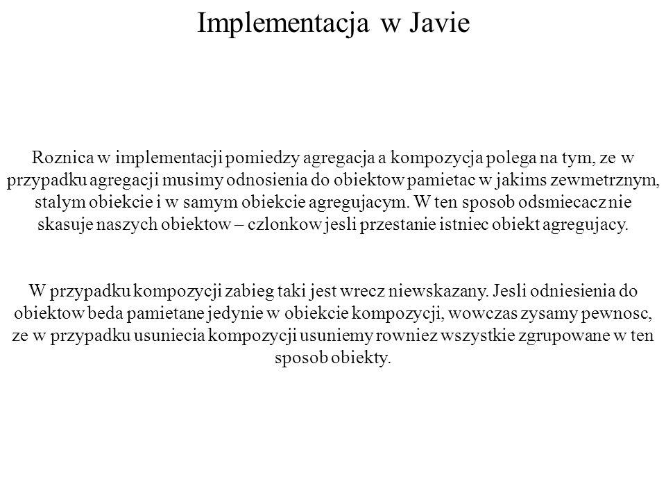 Implementacja w Javie