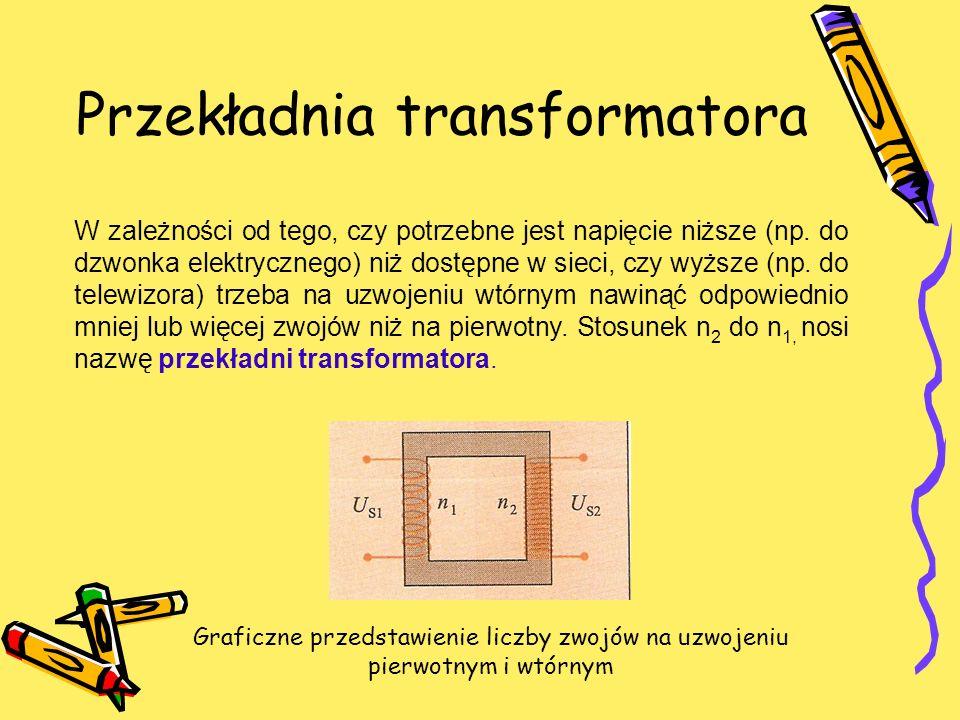 Przekładnia transformatora