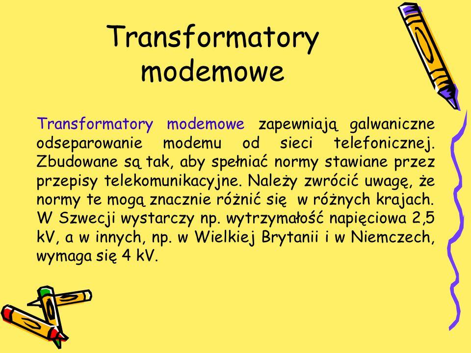 Transformatory modemowe