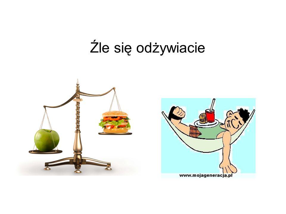 Źle się odżywiacie