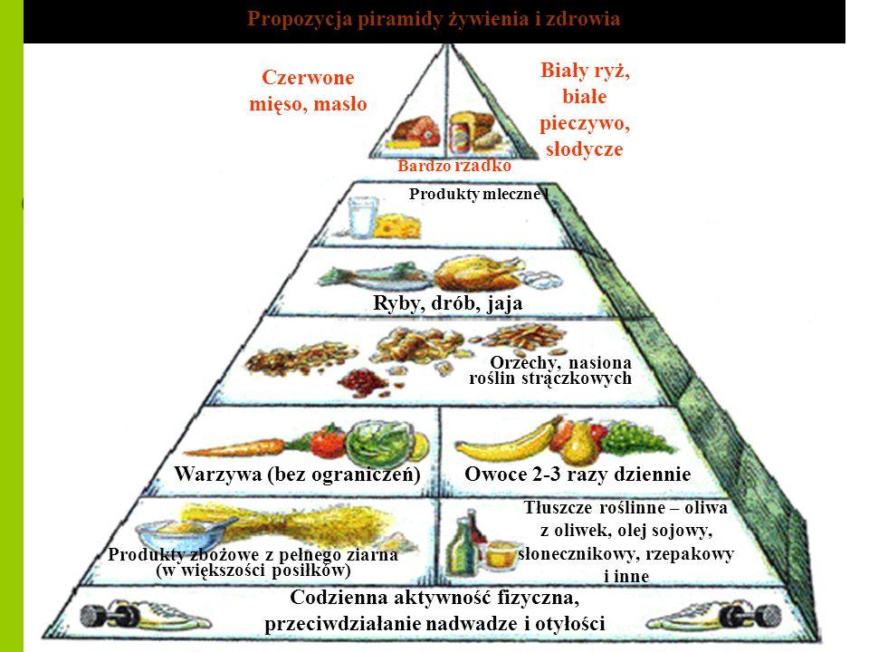 Propozycja piramidy żywienia i zdrowia