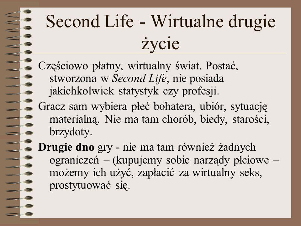 Second Life - Wirtualne drugie życie