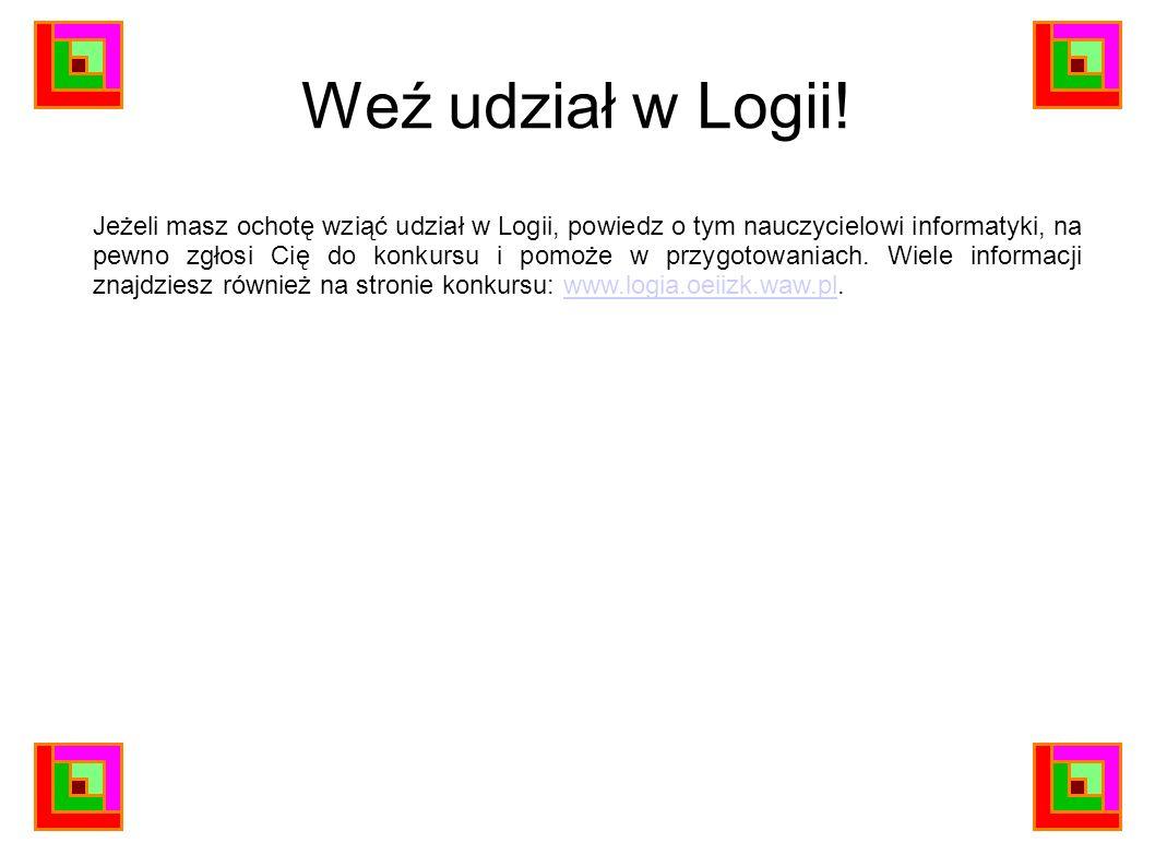 Weź udział w Logii!