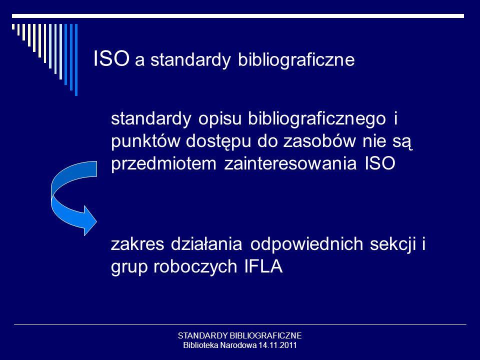 ISO a standardy bibliograficzne