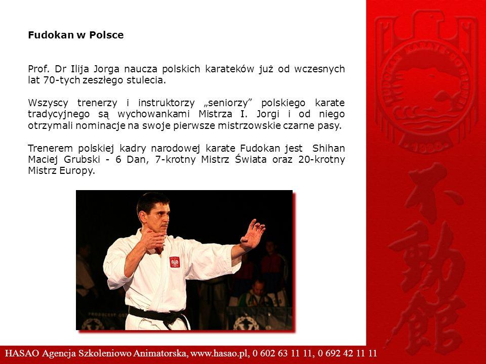 Fudokan w Polsce Prof. Dr Ilija Jorga naucza polskich karateków już od wczesnych lat 70-tych zeszłego stulecia.