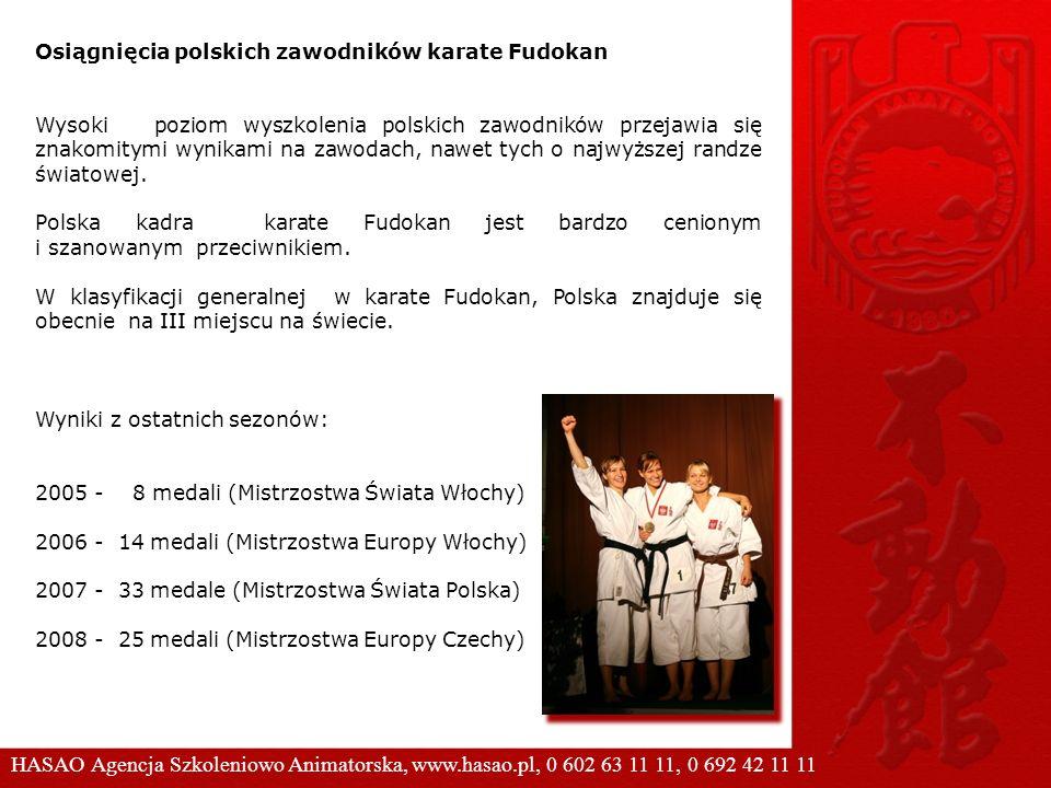 Osiągnięcia polskich zawodników karate Fudokan