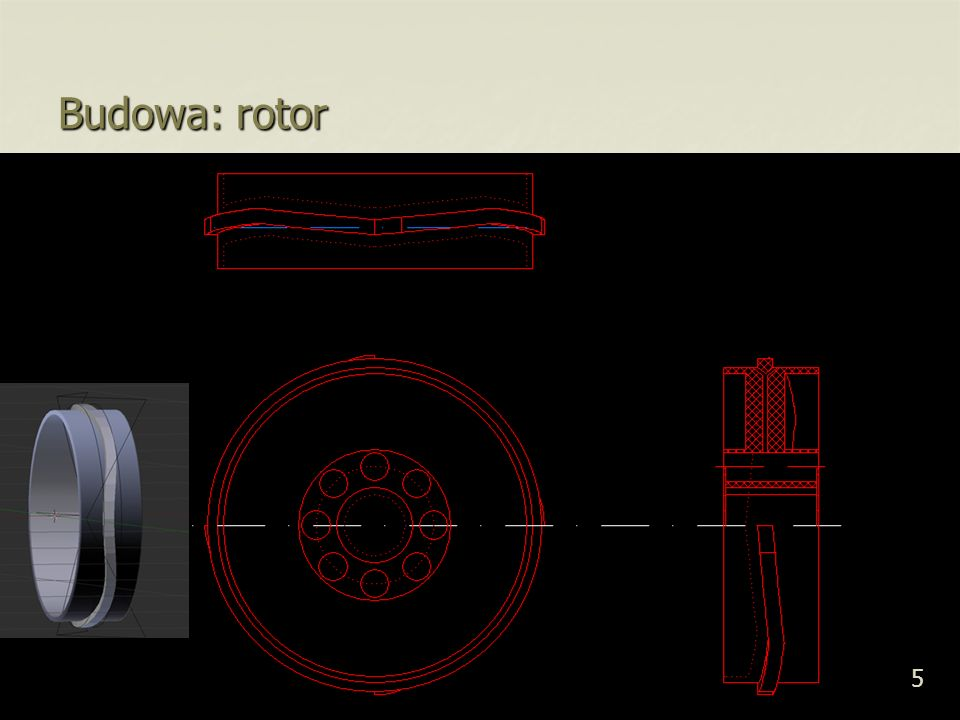 Budowa: rotor 5 5