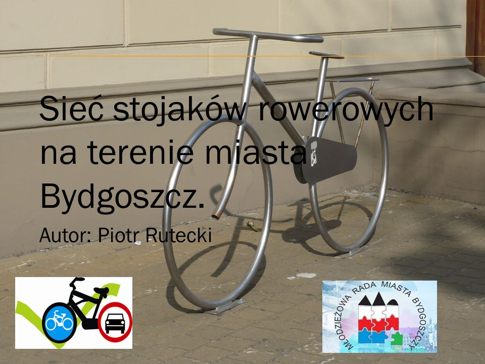 Sieć stojaków rowerowych na terenie miasta Bydgoszcz