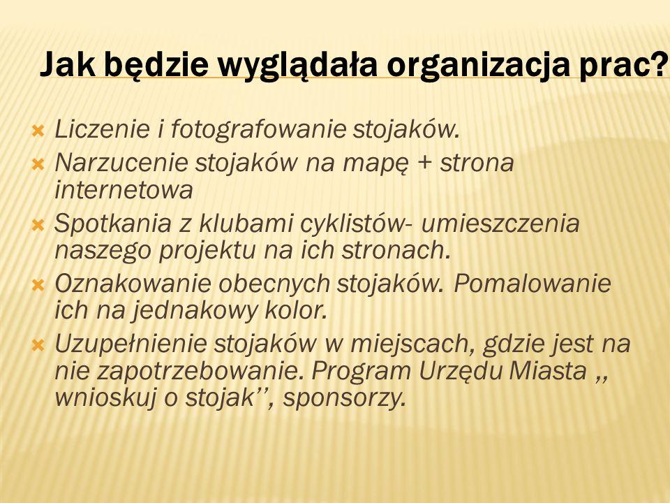 Jak będzie wyglądała organizacja prac