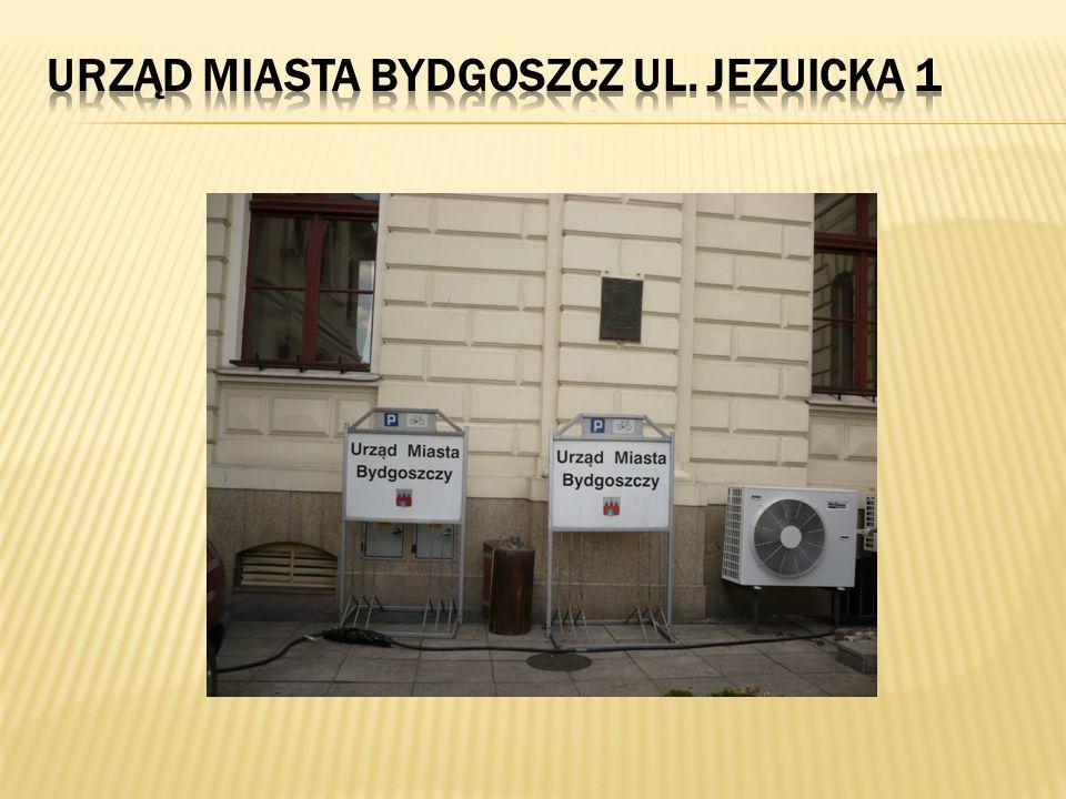 Urząd Miasta Bydgoszcz ul. Jezuicka 1