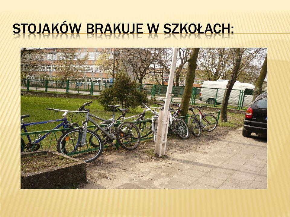 Stojaków brakuje w szkołach: