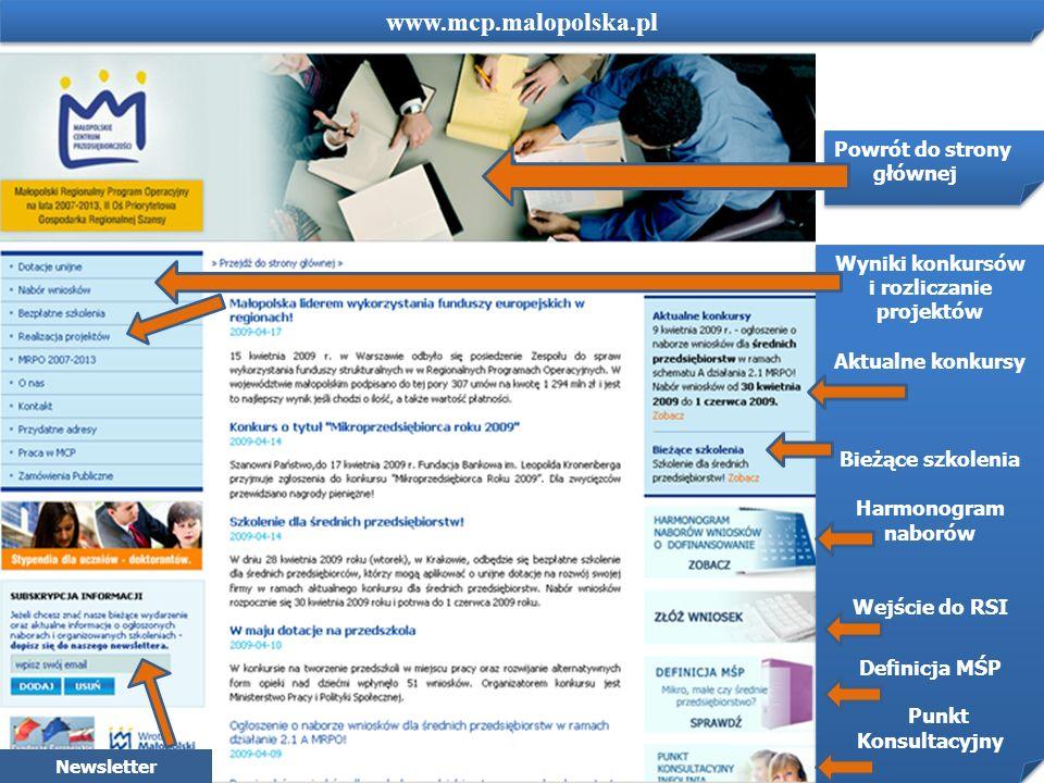 www.mcp.malopolska.pl www.mcp.malopolska.pl Powrót do strony głównej
