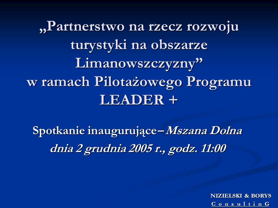Spotkanie inaugurujące– Mszana Dolna