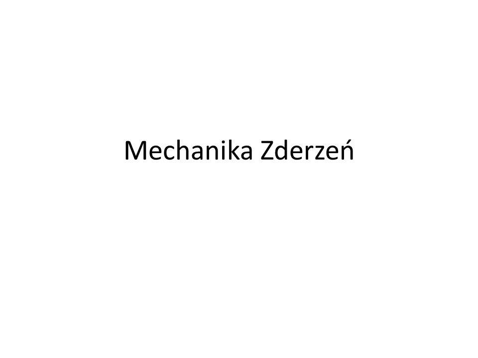 Mechanika Zderzeń