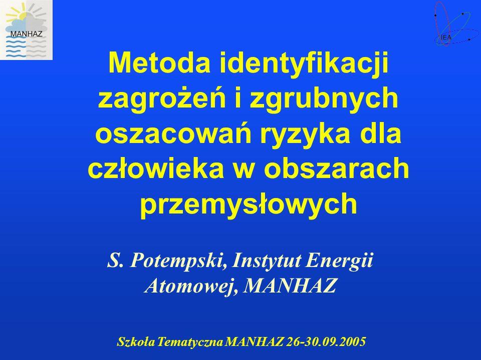 S. Potempski, Instytut Energii Atomowej, MANHAZ